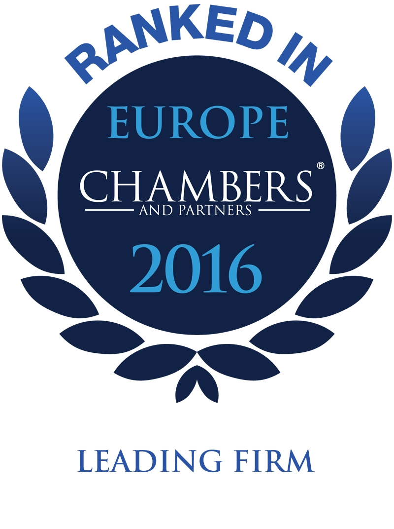Chambers Europe – Edition 2016