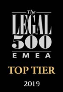 LEGAL 500 EMEA – 2019 edition – Real Estate
