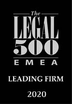 Legal 500 EMEA – Edition 2020 – Banking and Finance: Bank Regulatory