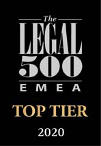 Legal 500 EMEA – Edition 2020 – Real Estate